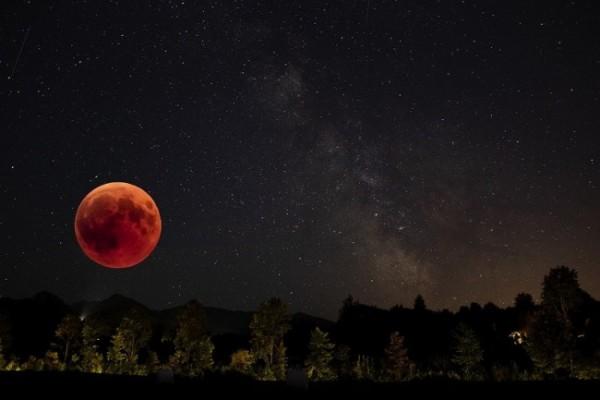 Gerhana Bulan Total. (Foto: Pixabay)