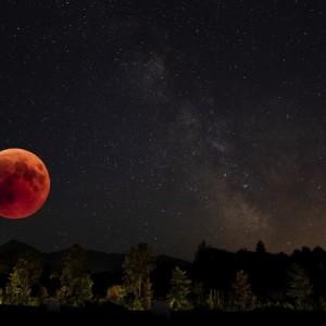 Malam Ini Gerhana Bulan Total Akan Terlihat, BMKG Karangkates Imbau Hal Ini