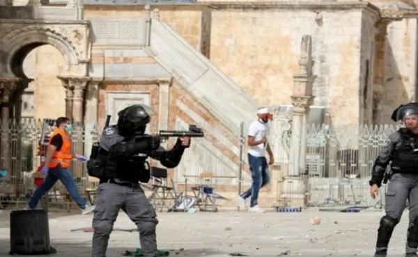 Serangan Israel terhadap Palestina (Foto: alray.ps)