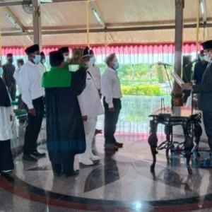 Bupati Bangkalan, Lantik PAW Kades Durin Timur dan PAW BPD Marandung