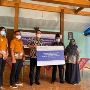 BPJS Kesahatan Salurkan Bantuan Bagi Korban Gempa di Kabupaten Malang