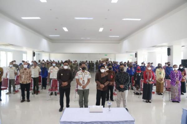 Rakor antara Wali Kota Malang Sutiaji dengan Satpol PP Kota Malang di Mini Block Office, Kamis (27/5/2021). (Foto: Humas Pemkot Malang for MalangTIMES).