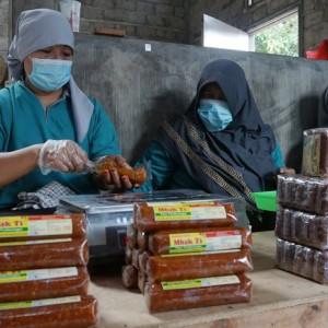 Sambel Pecel Mbak Ti  Kota Kediri Laris di Pasar Domestik dan Mancanegara