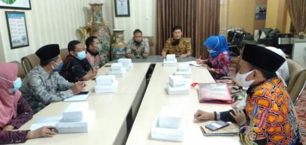 Suasana saat kunjungan studi tiru Dinas Pendidikan Kabupaten Sumenep ke Disdikbud Kota Malang (Ist)