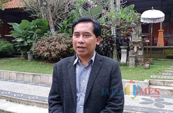 Direktur Perumda Tugu Tirta Kota Malang, M Nor Muhlas (foto: Hendra Saputra/ MalangTIMES)