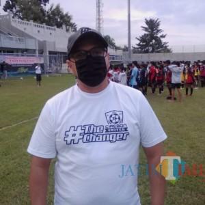 30 Pemain Muda Banyuwangi Ikuti Coaching Clinic Bareng Fabio Olivera