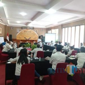Ajak Pegawai Melek Jurnalistik, Perumda Tugu Tirta Kota Malang Sinergi dengan PWI Malang Raya
