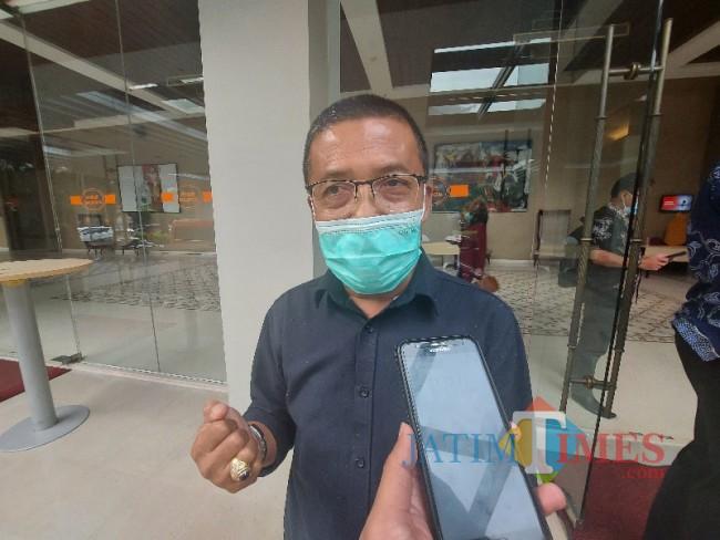 Wakil Wali Kota Batu Punjul Santoso saat ditemui MalangTIMES.com