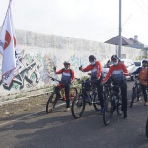 Meriahkan Milad ke- 19 PKS, DPD PKS Kota Malang Gelar Gowes 19 Km Hingga Jogging 1,9 Km