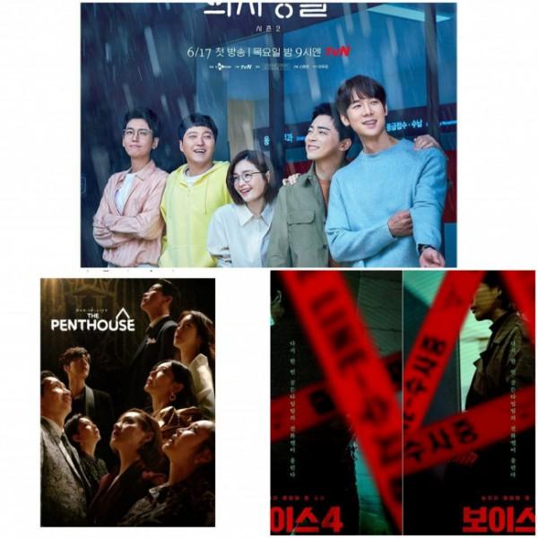 Drama Korea tayang di bulan Juni 2021. (Foto: berbagai sumber).