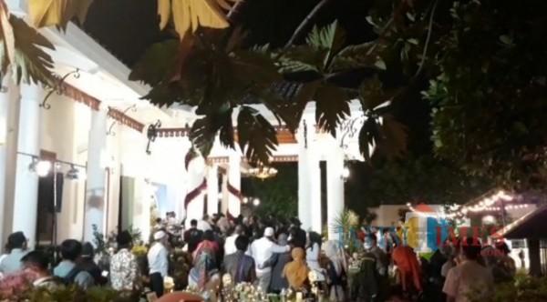 Pesta ulang tahun Gubernur Jatim, Khofifah Indar Parawansa (foto: dok. JatimTIMES)