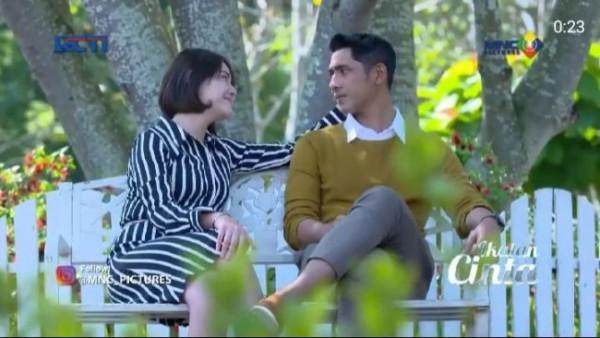 Salah satu scene Al dan Andin dalam Sinetron Ikatan Cinta RCTI. (Foto: Instagram @mnc_pictures).