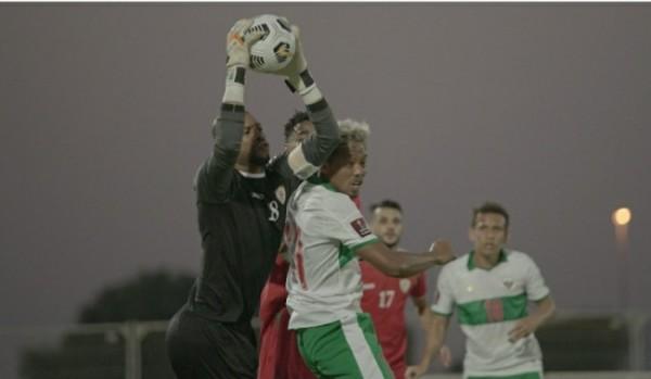 Skuad Garuda saat melawan Oman di Dubai (foto istimewa)