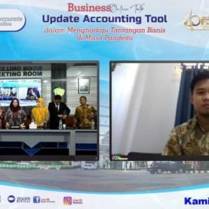Tingkatan Kompetensi, FEB UnismaGelar Business Online Talks Update Accounting Tools Di Masa Pandemi