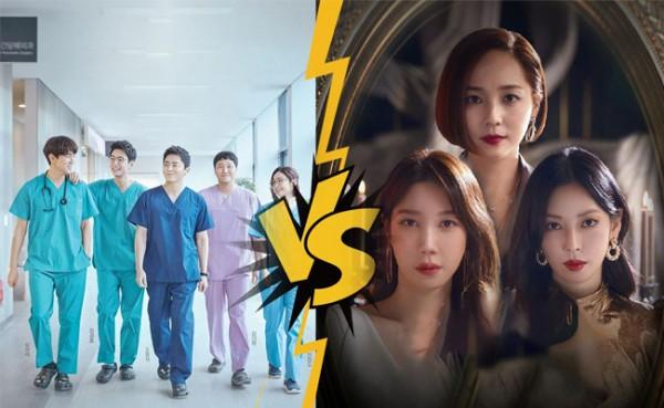 Hospital Playlist 2 vs The Penthouse 3 (Foto: Hit.vn)