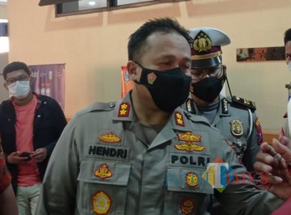 Kapolres Malang, AKBP Hendri Umar (Hendra Saputra/MalangTIMES)