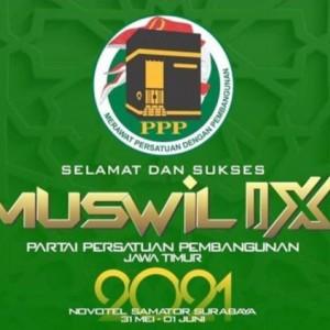PPP Jatim Gelar Muswil IX dengan Sistem AHWA, Bupati Jombang Kandidat Ketua Terkuat