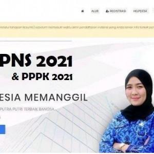 Pendaftaran CPNS dan PPPK 2021 Ditunda, Berikut Penjelasan BKN