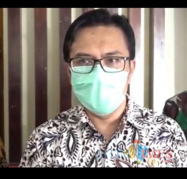Kepala Dinas Koperasi, Perindustrian dan Perdagangan (Diskopindag) Kota Malang, M Sailendra. (Ahmad Amin/MalangTIMES).