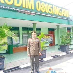 Hari Lahir Pancasila, Dandim 0805 Ngawi Ajak Bersatu Lawan Covid-19