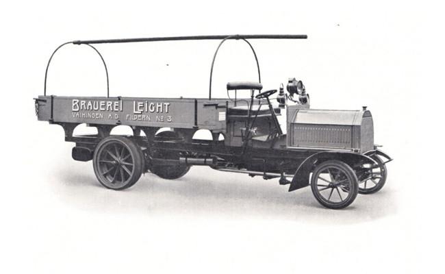 Penampakan truk pertama di dunia
