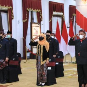 Peringati Hari Lahir Pancasila, Gubernur Jatim Minta Tak Pertentangkan Agama dengan Ideologi Pancasila