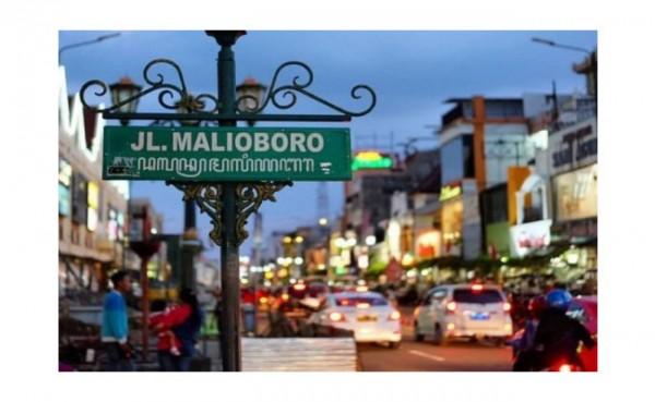 Kawasan Malioboro di Yogyakarta. (Foto: Ayoyogya.com)