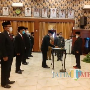 Dilantik, Ini Sosok yang Tempati Jabatan Sekda Kota Malang