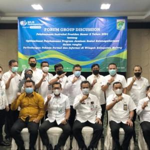 BPJS Ketenagakerjaan Harap Pemkab Malang Optimalkan Jaminan Perlindungan Tenaga Kerja