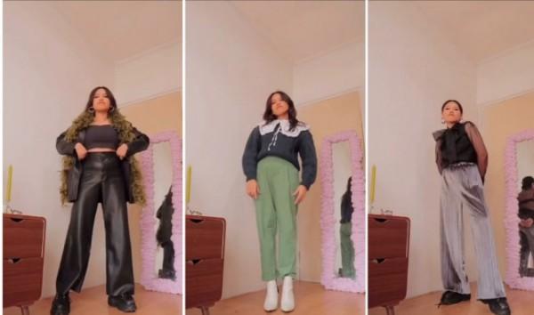 Outfit-outfit busana untuk bergaya ala Harry Style. (Foto: Instagram @steffisanta).