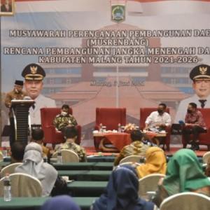 Musrenbang RPJMD 2021-2026, Bupati Sanusi Sampaikan 3 Unsur Capaian Masyarakat Sejahtera