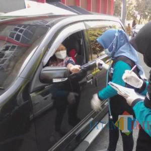 Gelar Vaksinasi Drive Thrue, Pemkab Banyuwangi Sasar Pelaku Wisata