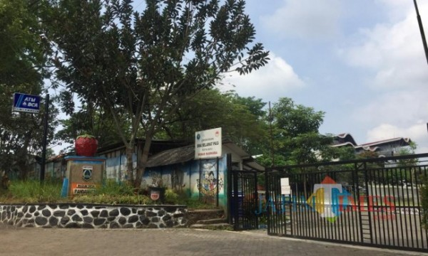 Suasana sekolah SPI Jalan Pandanrejo, Desa Pandanrejo, Kecamatan Bumiaji, Kota Batu. (Foto: Irsya Richa/MalangTIMES)