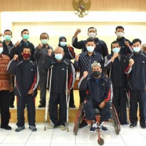 Mas Abu: Terima Kasih Atlet NPC Kota Kediri Jadi Juara Umum III Perparprov Jatim