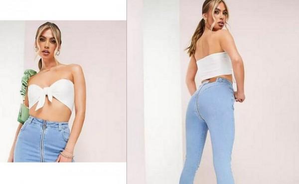 Jeans ASOS viral (Foto: Dok. ASOS)