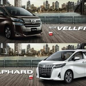 Toyota Perbarui Alphard-Vellfire dengan Fitur Canggih dan Penampilan yang Lebih Sporty