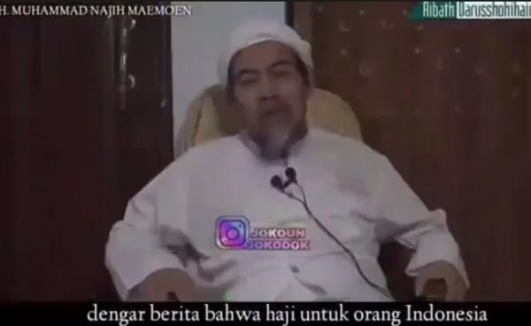 KH Muhammad Najih (Foto: YouTube Mahfut Desa)