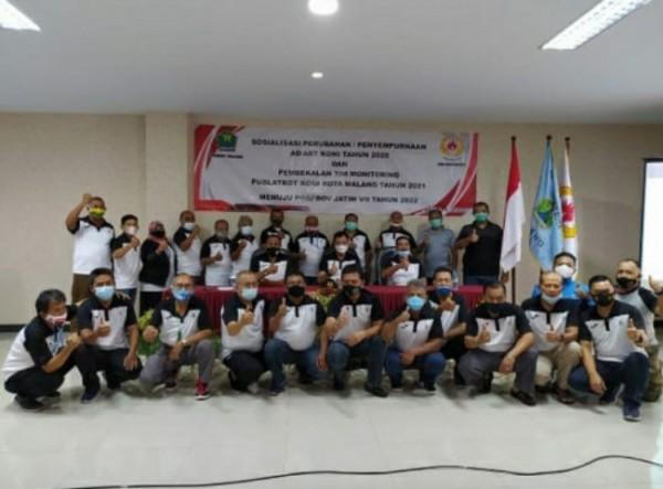 KONI Kota Malang giat sosialisasi perubahan penyempurnaan AD ART sekaligus memberikan pembekalan tim monitoring Puslakot (Foto Istimewa)