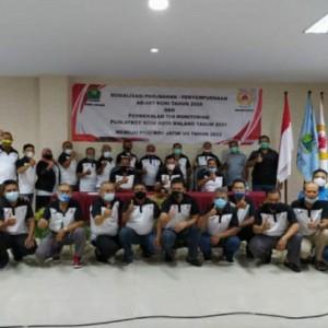 Jelang Porprov Jatim VII 2022, KONI Malang Beri Pembekalan Tim Monitoring Puslakot