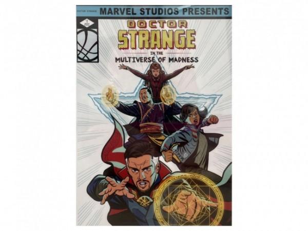 Poster karakter animasi sekuel ke 2 Doctor Strange yang bakal tampilkan America Chavez. (Foto: Twitter @Adam_Khan100).