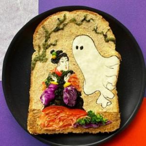 Sensasi Makan Kudapan Roti Bakar Berwajah Tokoh Perempuan Jepang, Mau Cobain?