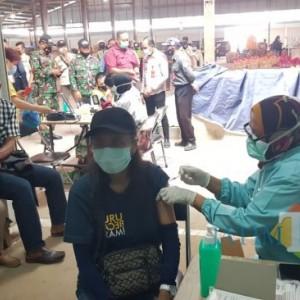 Vaksinasi Pelayan Publik Dibuka di RS Bhayangkara Kota Batu, Targetnya Sehari 100 Orang