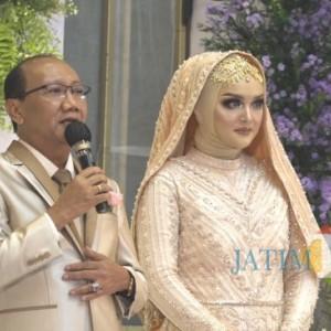 Berbagi Kasih Mengikat Janji Suci, Tasyakuran Pernikahan Wasekjen DPP Rei Jadi Contoh Penerapan Prokes