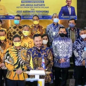 Heboh Wacana Duet AHY-Airlangga di Pilpres 2024, Bak Nostalgia SBY-JK
