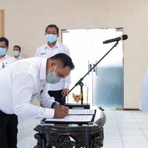 Jelang Operasional, Dilantik 13 Pejabat Struktural RSUD Kilisuci Kota Kediri