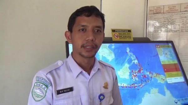 Kepala BMKG Stasiun Geofisika Malang Ma'muri. (foto: istimewa)
