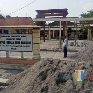 Desa Munggut Rehab Pendopo Balai Desa Siapkan Anggaran Rp 150 Juta