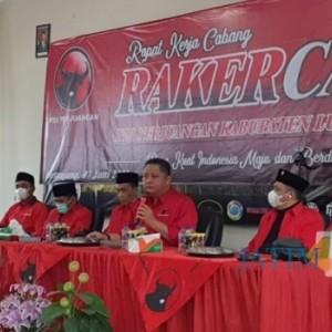 DPC PDI Perjuangan Lumajang, Bersama Lima Kabupaten di Tapal Kuda Gelar Rakercab