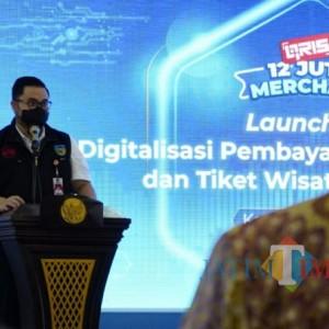 Bupati Kediri Launching Digitalisasi Pembayaran Tiket Wisata dan Pajak Daerah