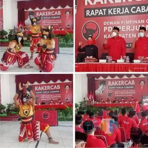 Rakercab, DPD PDI Perjuangan Jatim Puji Keberhasilan DPC Ngawi